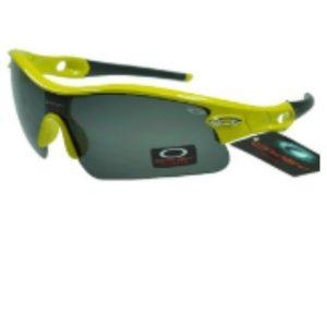 Wholesale Oakley Radar Sunglasses Grey Lens Yellow